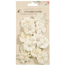Little Birdie Embellishment Floramaria 12 Piece