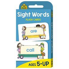 Hinkler School Zone Beginning Sight Words Flash Cards