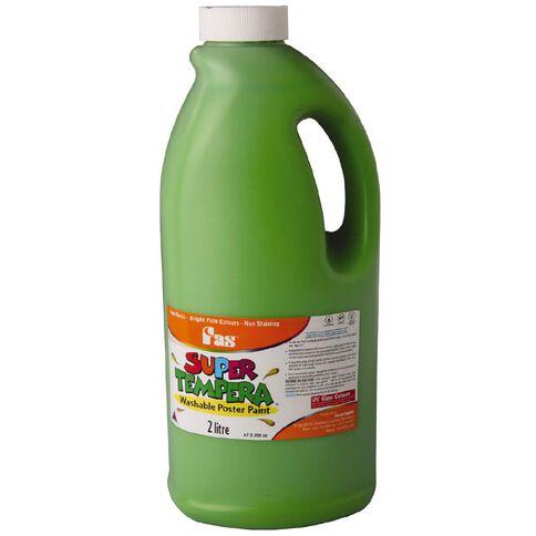 FAS Paint Super Tempera 2L Leaf Green 2L