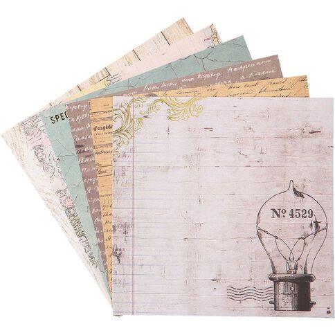 Uniti Vintage Paper Pad 6in x 6in