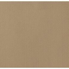 American Crafts Cardstock Textured 12 x 12 Caramel Brown