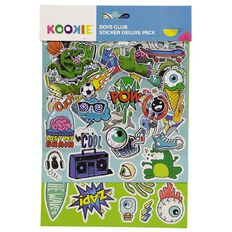 Kookie Sticker Deluxe Pack 5 Sheets Boys Club