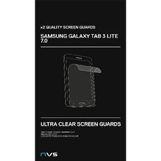 NVS Screen Guard For Samsung Tab 3 Ve 7 2 Pack Clear