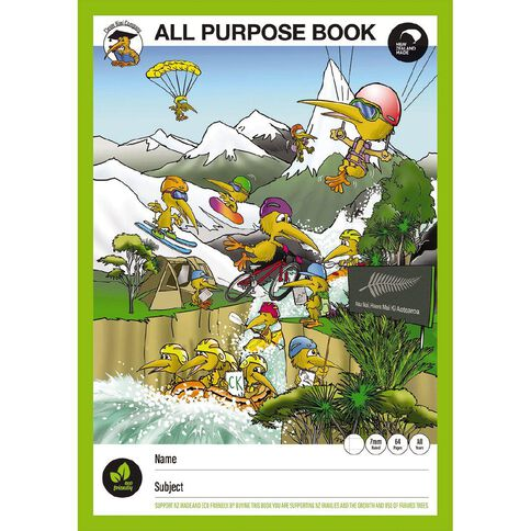 Clever Kiwi All Purpose Book