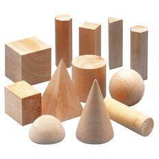 Tfc Geo Solids Wood Brown