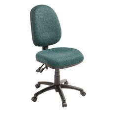 Eden Tag 3 Lever Highback Ergonomic Chair Atlantic
