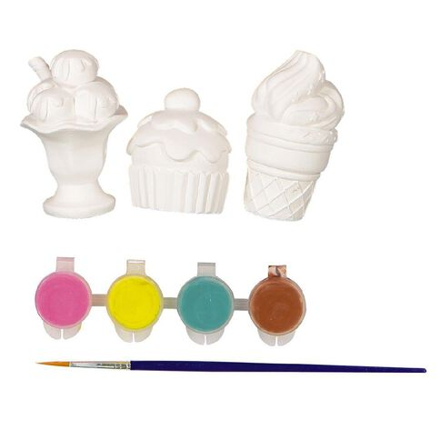 Kookie Paint Your Own Plaster Cream & Cupcakes