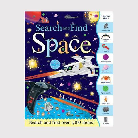 Search & Find: Space by Joshua George