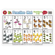 Learning Can Be Fun Practice Mats Numbers 1-10