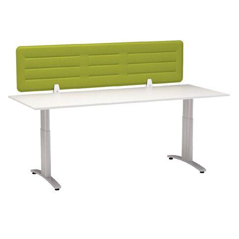 Boyd Visuals Desk Screen Lime Green 1380mm