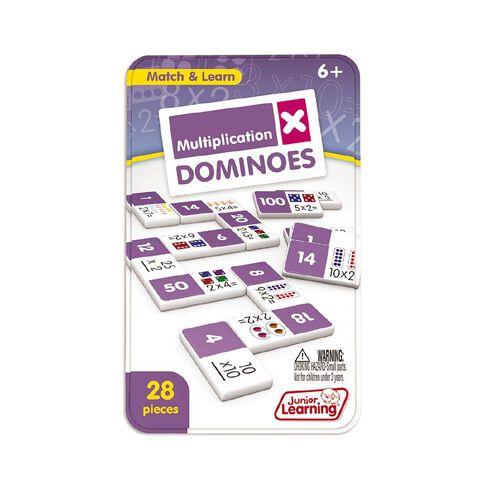 Junior Learning Multiplication Dominoes