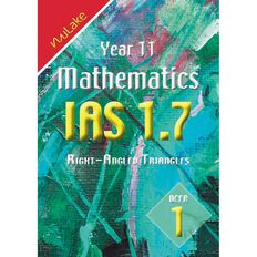 Nulake Year 11 Mathematics Ias 1.7 Right Angles Triangles