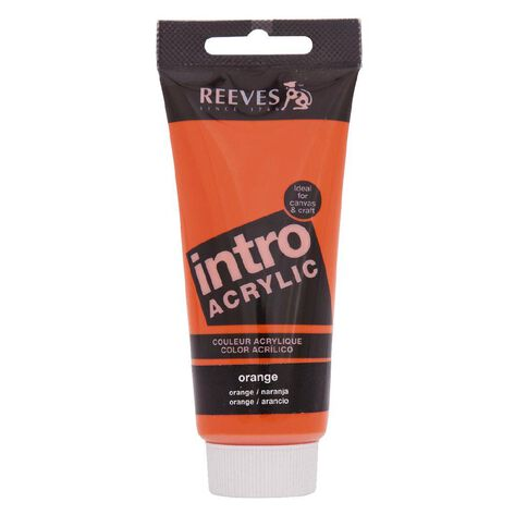 Reeves Intro Acrylic Paint 100ml Lemon