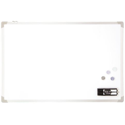 Impact Aluminium Magnetic Whiteboard 600 x 900mm