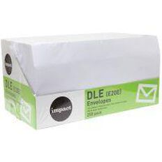 Impact Envelope E20E Seal 250 Pack White