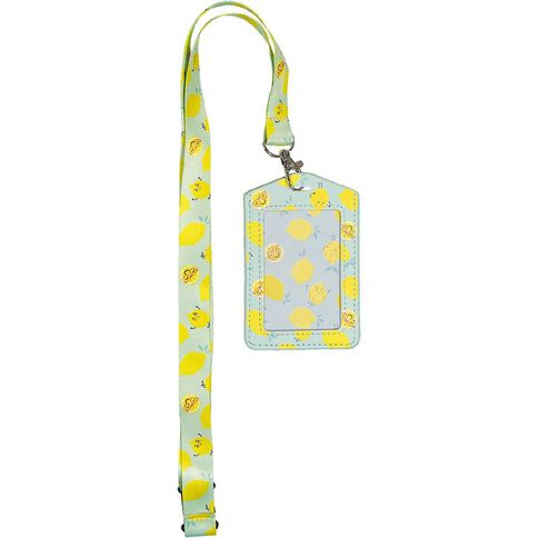 Kookie Fun Food Lanyard Bus Pass