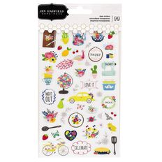 Jen Hadfield My Bright Life Stickers Mini 99 Piece