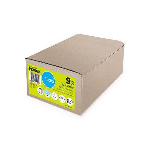 Tudor Envelope E9 Window Self Seal 500 Box