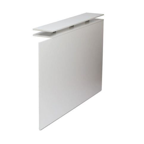 Cubit Reception Counter Return White