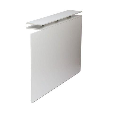 Cubit Reception Counter Return White White