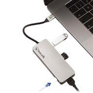 Bonelk USB-C 6in1 Multiport Adapter Space Grey