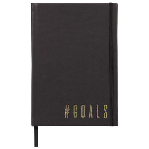 Impact PU Notebook Goals Gold Foil A5