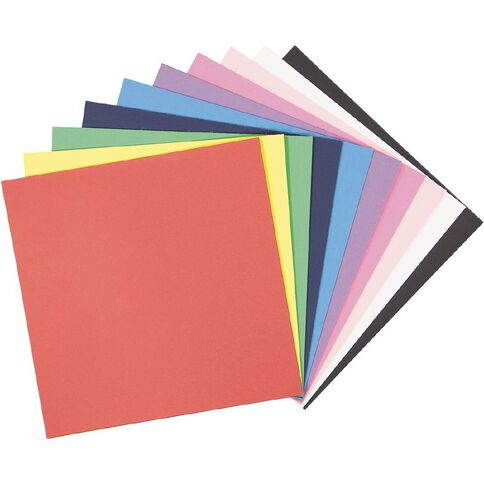 Uniti Value Cardstock Smooth 220gsm Brights 60 Sheets 12in x 12in