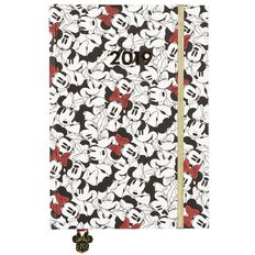 Minnie Mouse Diary 2019 Day to Page A5