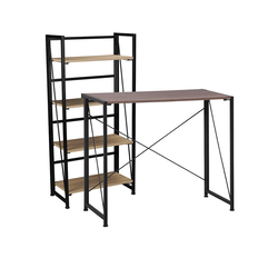 BUY 1 Workspace Folding Desk & Workspace Folding Bookcase FOR $119 SAVE $99 as a bundle purchase