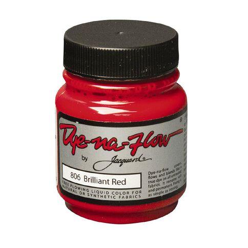 Jacquard Dye-Na-Flow 66.54ml Brilliant Red