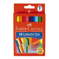 Faber-Castell Connector Felt Pens 10 Pack