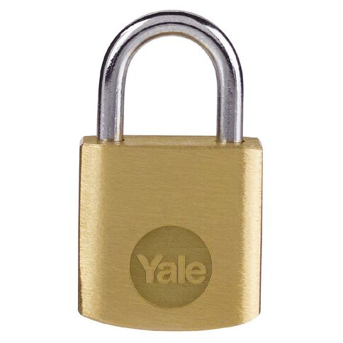 Yale Brass Padlock 20mm