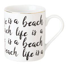 Living & Co Lifes a Beach Mug