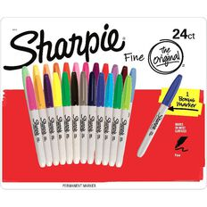 Sharpie Fine 24Pk Bonus 1 Asst Multi-Coloured