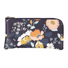 Uniti Winter Bloom Leather Look Pencil Case