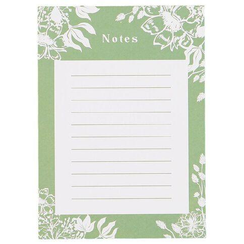 Uniti Secret Garden Notepad A6