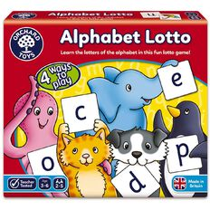 Orchard Toys Game Alphabet Lotto
