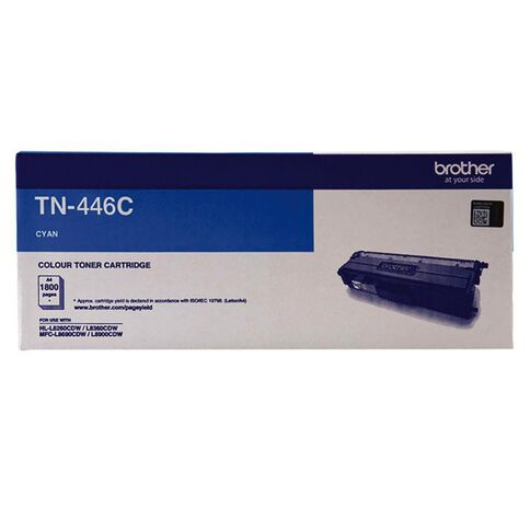 Brother Toner TN446C Cyan (6500 Pages)