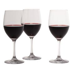 Living & Co Traditional Red Wine Glass 450ml 6 Pack