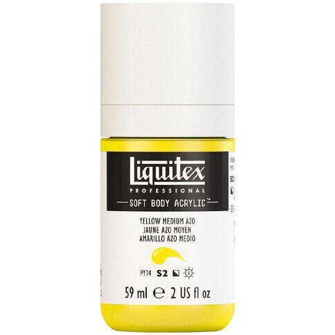 Liquitex Soft Body Acrylic 59ml Yellow Medium Azo S2