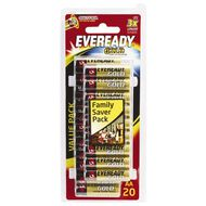 Eveready Gold AA 20 Pack