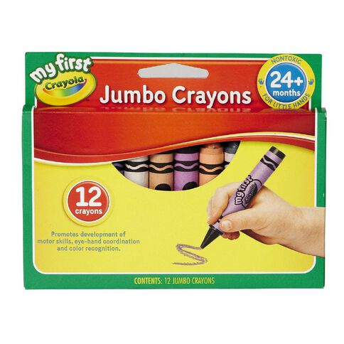 Crayola My First Crayons Multi-Coloured 12 Pack