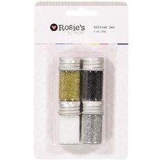 Rosie's Studio Glitter Set Metals 20g 4 Pack