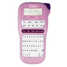Brother PTH110PK P-Touch Label Maker Pink