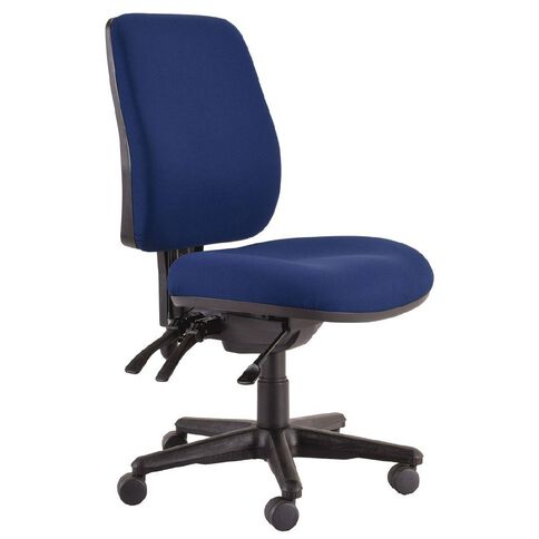 Buro Seating Roma 3 Lever Highback Chair Navy