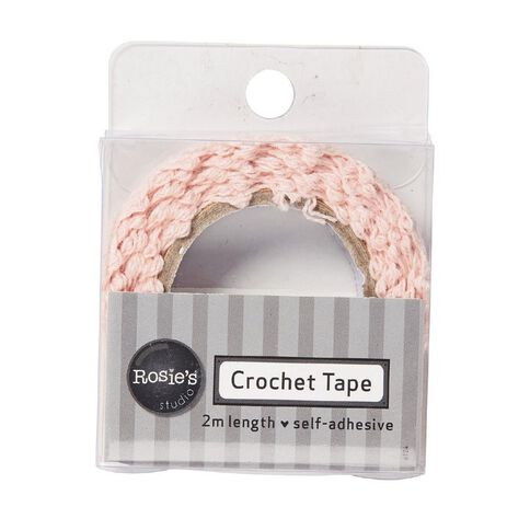 Rosie's Studio Crochet Lace Tape 2m Assorted