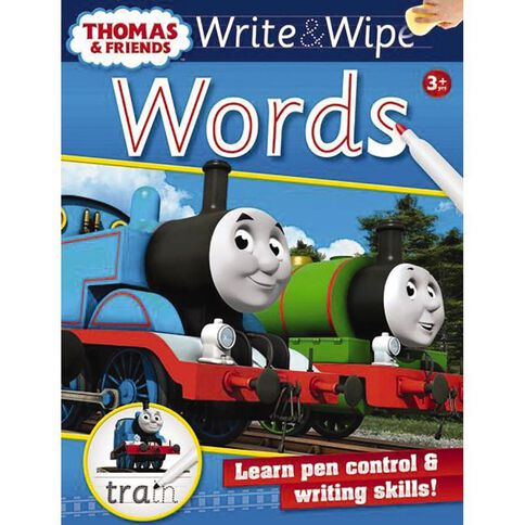 Thomas Write and Wipe Words