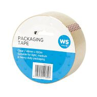 WS Packaging Tape PP 48mm x 100m Clear