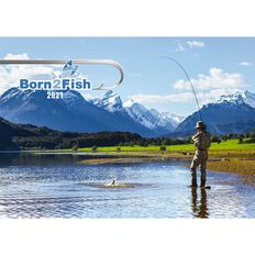 Calendar 2021 Born 2 Fish Booklet