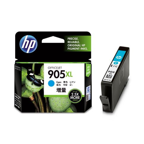 HP Ink 905XL Cyan (825 Pages)